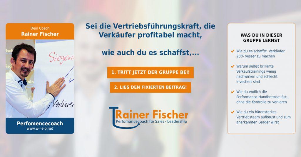 Trainer Fischer - Perfomancecoach - Leadership - facebook Titlebild Gruppe