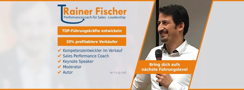Trainer Fischer - Perfomancecoach - Leadership - facebook Titlebild Profil