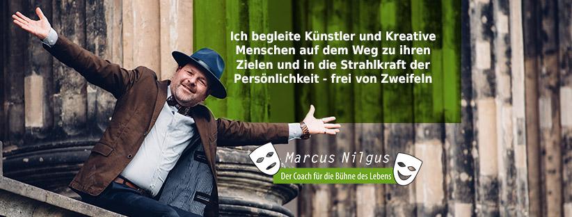 Marcus Nilgus der Coach für die Bühne des Lebens - Facebook Titelbild Fanpage