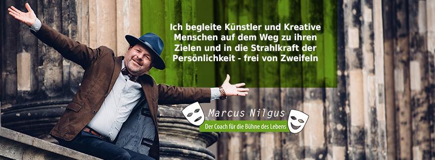 Marcus Nilgus der Coach für die Bühne des Lebens - Facebook Titelbild Profil